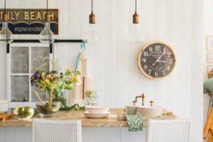 decoracion mediterranea, persianas venecianas, venecianas madera, estores para cocina