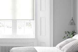 dormitorio más amplio, estores, estores enrollables, cortinas a medida, estores screen
