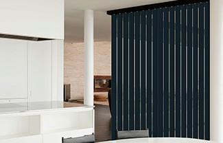 Lamas verticales screen fibra de vidrio